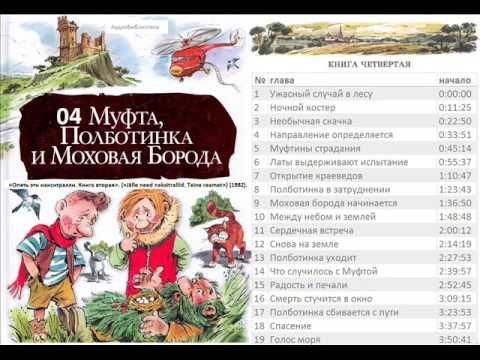 Муфта, Полботинка и Моховая Борода Эно Рауд
