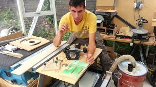Router 101 Basics: Make A Circle Cutting Jig For Discs, Curves & Arcs.
