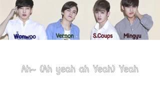 SEVENTEEN (세븐틴) - Ah Yeah [Colour coded Hangul/Rom/Eng Lyrics]