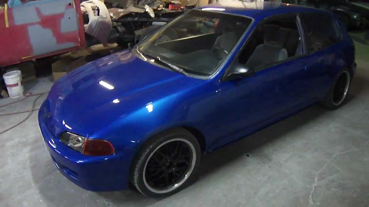 1994 Honda Civic Hatchback Johns Restoration Youtube