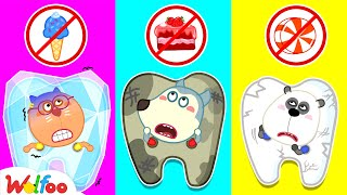 Wolfoo, No sweets! Yes Yes, Brush Your Teeth!   Wolfoo Learns Good Habits for Kids   Wolfoo Channel