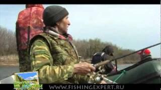Рыбалка на Волге часть1 Весна 2010 года.