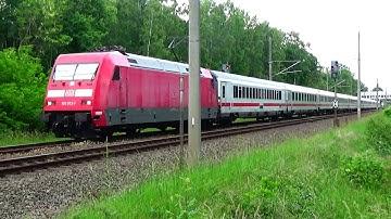 Zugsichtungen auf der Marschbahn / Strecke Hamburg - Westerland