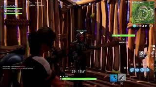 HOW TO PASTo TRAVERS THE MURS ON FORTNITE BATTLE ROYALE