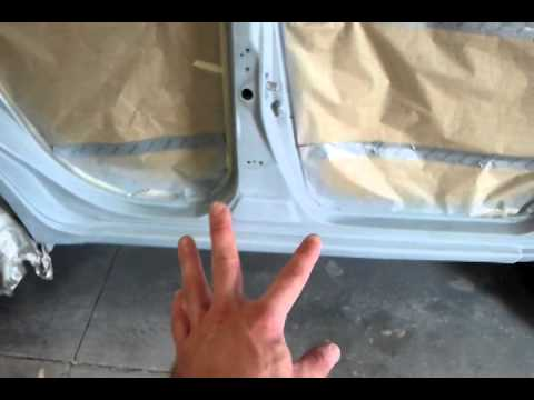 scion xd door pillar repair