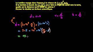 Calcul de la distance terre soleil