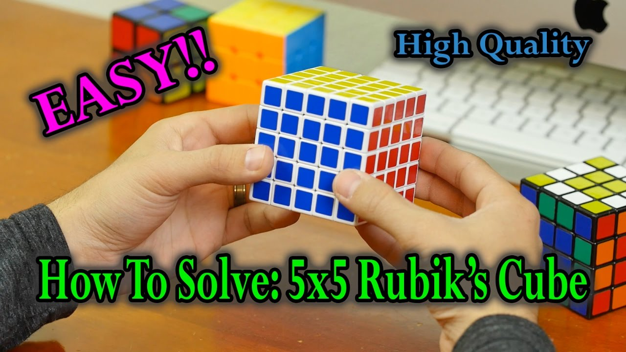 5X5 RUBIK S CUBE SOLUTION EPUB