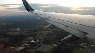 Delta Airlines Boeing 737-800 Landing @ Bradley International Airport