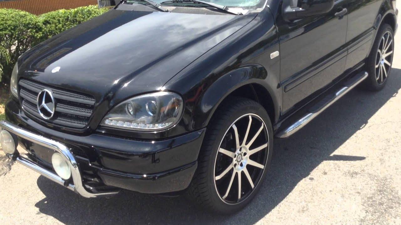 Winston salem rimtyme 22 wheels 2001 ml 350 mercedes youtube for Mercedes benz ml320 tires