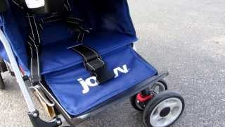 Joovy Caboose Too Ultralight Stroller Video Review