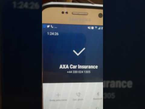 Axa car insurance - customer service of the year  (an hour and 24 minutes waiting to be connected)