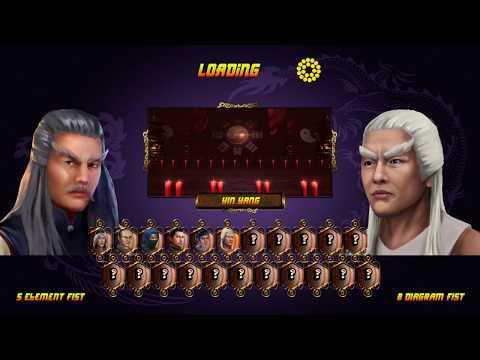 Shaolin vs Wutang 5 element fist arcade |
