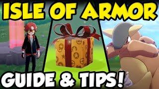 Pokemon Sword and Shield Isle Of Armor Gameplay / Pokemon Sword and Shield Isle of Armor Guides Playlist ...