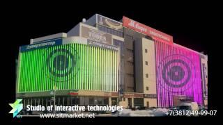 архитектурная подсветка в россии(Динамичная Архитектурная подсветка считается чем то близким к полноценному медиафасаду. В данном ролики..., 2014-08-12T15:32:45.000Z)