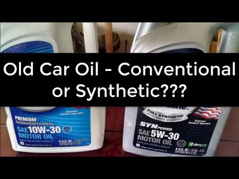 Should You Use Synthetic Oil in Your Older Car?