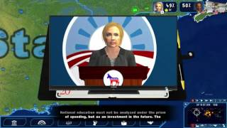 Geopolitical Simulator 4: Power & Revolution - 2016 USA Presidential Election pt. 2