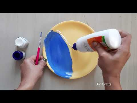 Beautiful DIY Nature Creation from Waste Materials | Recycling Crafts | Coconut Shell Crafts