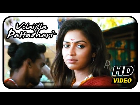 Velaiilla Pattadhari Tamil Movie - Amala Paul wants to spend a day with Dhanush