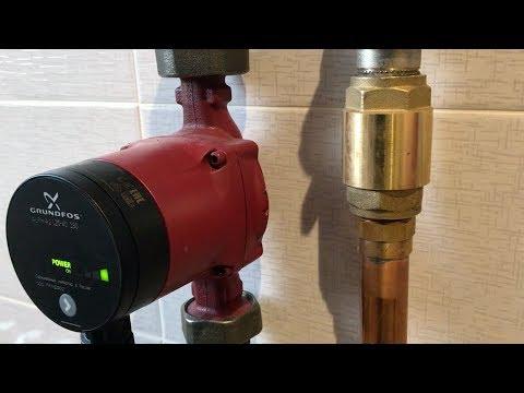 Устраняем шум обратного клапана отопления