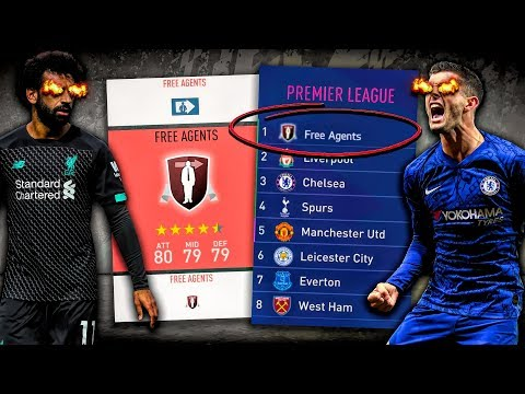 Can A Team Of FREE AGENTS Survive The Premier League?! FIFA 20 Career Mode