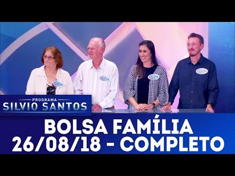 Bolsa Família | Programa Silvio Santos (26/08/18)