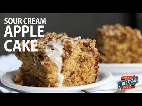 How To Make Sour Cream Apple Cake