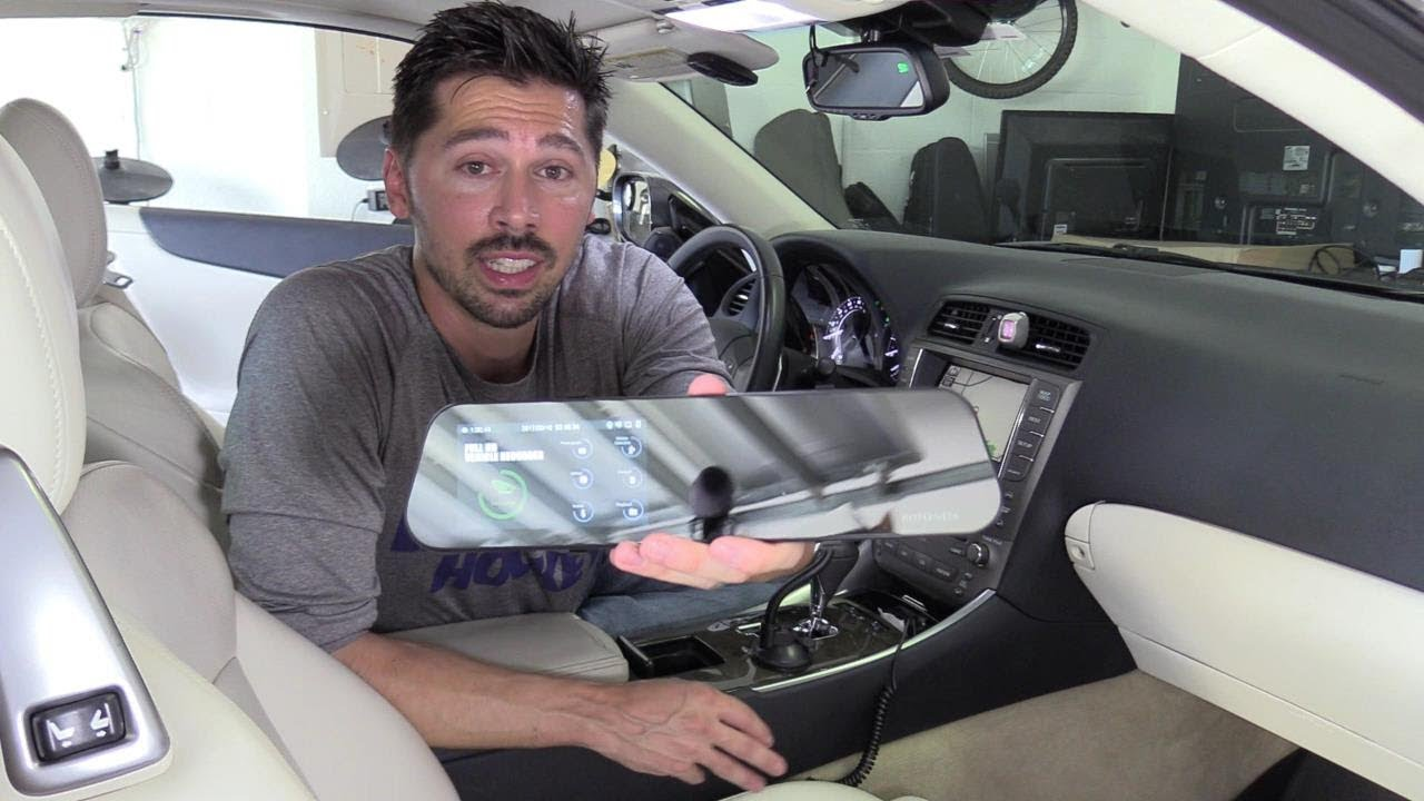 how to install and wire backup camera dash cam dvr system [ 1280 x 720 Pixel ]