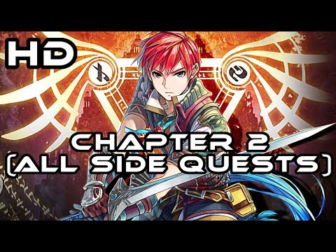 Ys VIII - Lacrimosa Of Dana I Walkthrough Chapter 2 ALL Side Quests I PS4 Pro