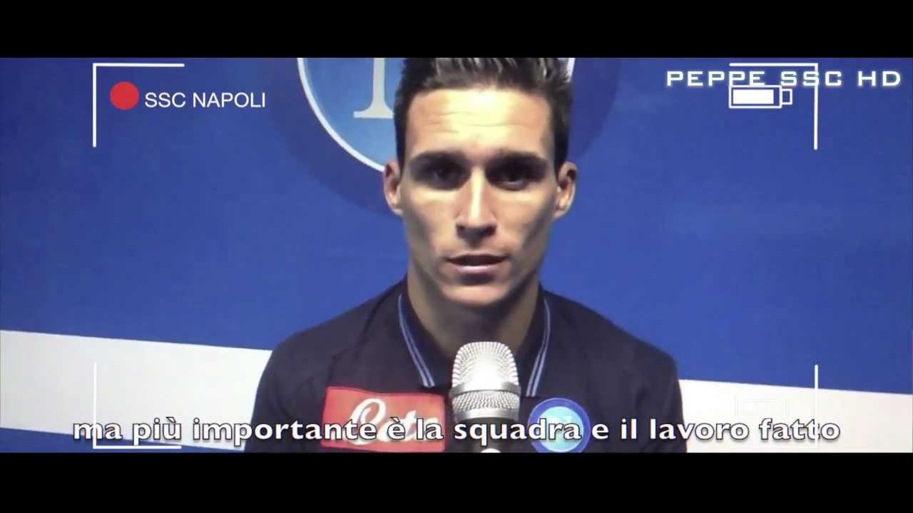 SSC Napoli Jose Maria Callejon The Spanish Machine