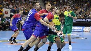 Гандбол Россия - Бразилия Чемпионат Мира 2019