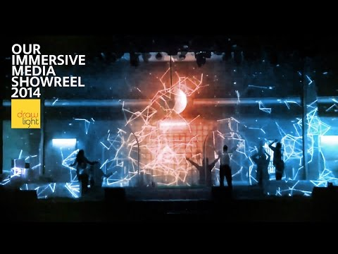 Immersive Media Showreel 2014 - Projection Mapping, Interactivity and magic!