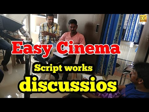 Easy Cinema Script works are going on|Easy Cinema PRODUCTIONS|EC|