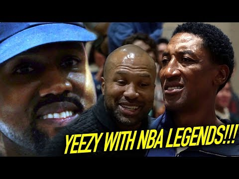 KANYE WEST & NBA LEGENDS Watch Sierra Canyon JUMP OVER & DROP OFF DEFENDERS!