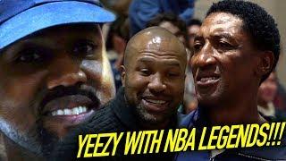 KANYE WEST & NBA LEGENDS Watch Sierra Canyon JUMP OVER & DROP OFF DEFENDERS!