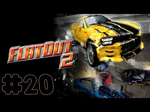 FlatOut 2 - Walkthrough - Part 20 - Street Wreck Cup (PC) [HD]