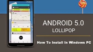 Step By Step Method To Install Android 5.0 Lollipop With virtual Box On Your PC