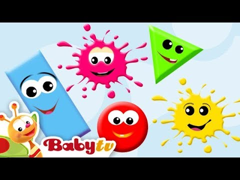Learning Colors & Shapes for Kids, Toddlers and Babies | BabyTV ...