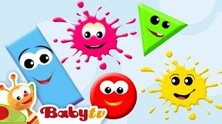 Learning Colors & Shapes for Kids, Toddlers and Babies - BabyTV