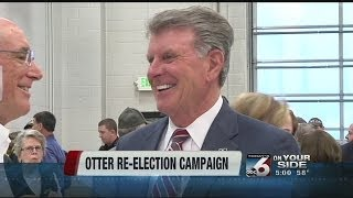 Governor Otter announces re-election campain