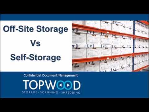 Off-Site Storage vs Self-Storage