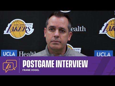Lakers Postgame: Frank Vogel (3/21/21)
