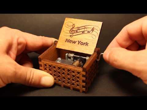 New York Music Box (Invenio Crafts)