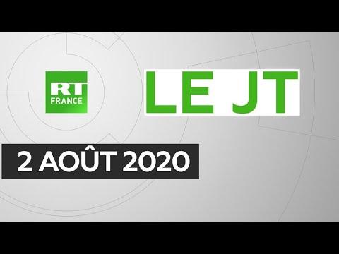 Le JT de RT France - Dimanche 2 août 2020