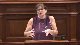 Conchi Monzón (Podemos) sobre políticas en materia de personal