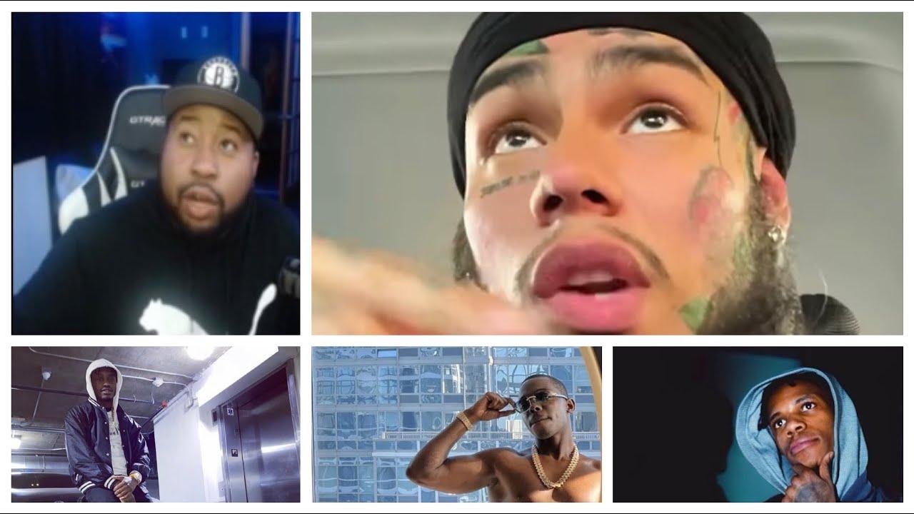 DJ Akademiks and 6ix9ine discuss who's the King of New York. Talks Bobby Shmurda, A Boogie, lil Tjay