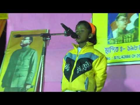 SPEECH ON NETAJI SUBHASH CHANDRA BOSE  BY NIMA SEN  IN HINDI