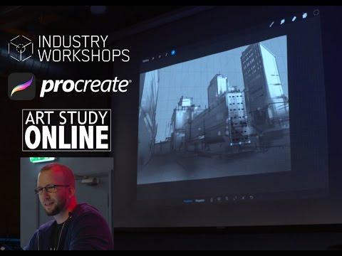 Nikolai Procreate-talk. Industry Workshops 2016 - London