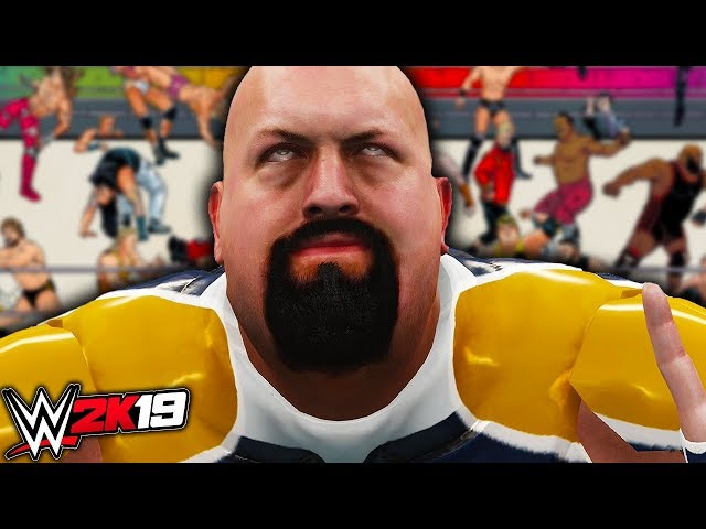 WWE 2K19 - WEIRDEST 30 MAN CAW ROYAL RUMBLE EVER!!