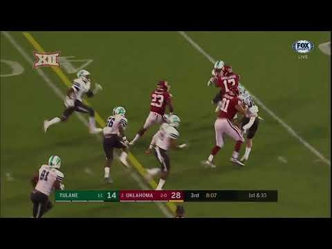 Oklahoma vs. Tulane Football Highlights