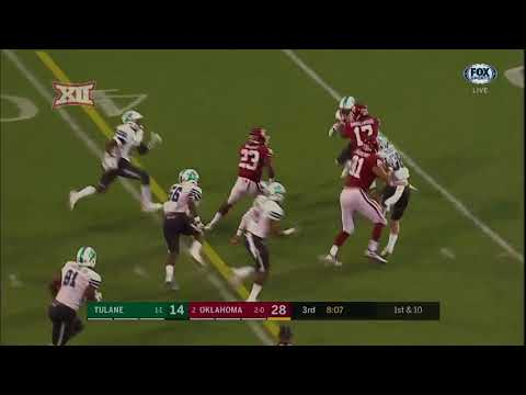 Oklahoma vs. Tulane Football Highlights